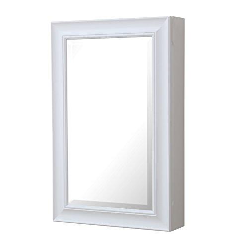 Napa Wall-Mounted Medicine Cabinet (White) (Pottery Barn Cabinet compare prices)