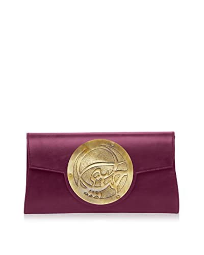 Dareen Hakim Collection Women's Le Icon Clutch, Sangria