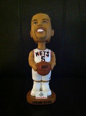 Jason Kidd SIGNED DALLAS MAVERICKS Bobblehead SGA AUTO W/COA - PSA/DNA Certified - Autographed NBA Figurines