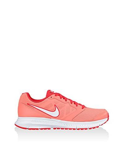 Nike Zapatillas Wmns Downshifter 6 Coral / Blanco