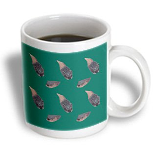 Cherylsart Wild Animals Otters - Pattern Of Two Otters Swimming In Different Directions - 11Oz Mug (Mug_62910_1)