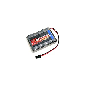 Tenergy 6V Side by Side Receiver RX Battery Pack with Hitec Connectors