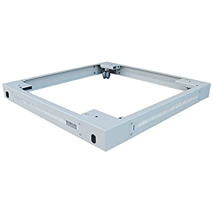 LogiLink PLI81G Rack plinth rack accessory - rack accessories (Rack plinth, Grey, Steel, 800 mm, 1000 mm, 900 mm)