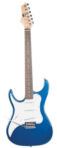 Axl Headliner Series Electric Guitar, 3/4-Sized, Metallic Blue, Left Handed