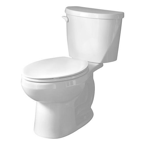 American Standard 2752.128.020 Evolution 2 Round Front Two-Piece Flowise 1.28 gpf Toilet, White