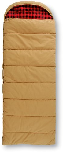 Guide Gear Minus 30 Degree Canvas Hunter Rectangle Sleeping Bag Duck Brown