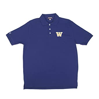 NCAA Washington Classic Pique Polo Shirt by Antigua