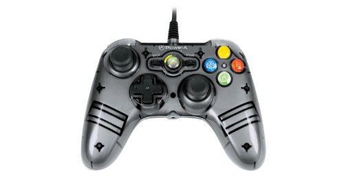 Power A Mini Pro Ex Wired Controller - Grey - Xbox 360