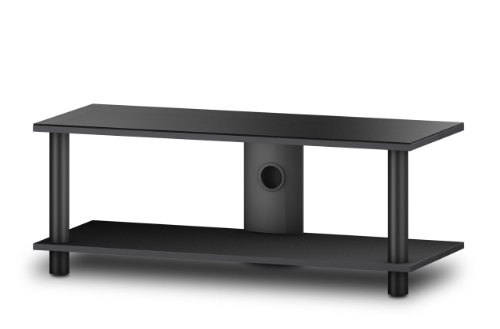 Sonorous EVO 1002 Glass and Wood Television Stand for Upto 42 inch TV