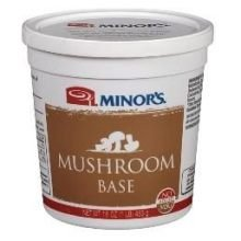 Minors Gluten Free Mushroom Base, 0.9 Pound -- 6 Per Case.