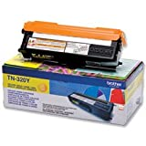 Brand New. Brother Laser Toner Cartridge Page Life 1500pp Yellow Ref TN320Y