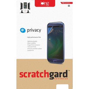 Scratchgard Privacy Filter Screen Protector For Samsung Galaxy Y S5360 | Color Black