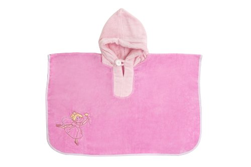 Schlummersack Baby/Toddler Hooded Bath Poncho Towel Pink Fairy 1-4 years