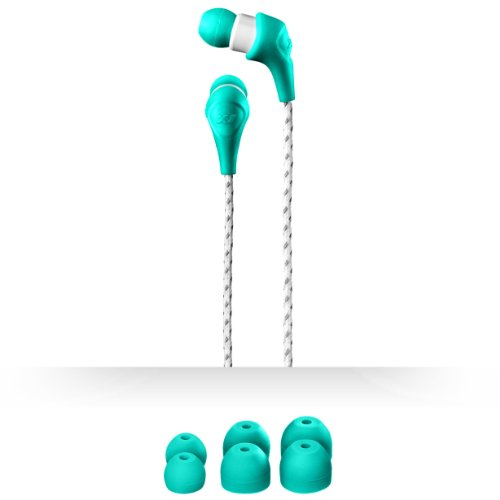 X-1 (Powered By H2O Audio) Mm-Sp1-Tl Women'S Momentum Sport In-Ear Headphones (Teal/White)