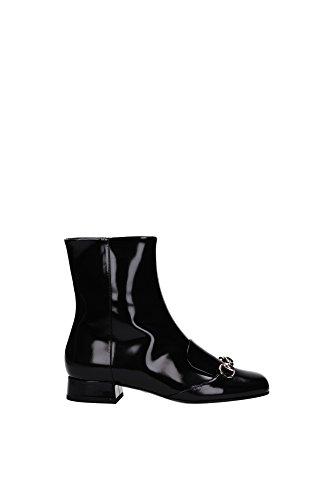 Tronchetti & Stivaletti Gucci Donna Pelle Nero 362951CLG001000 Nero 36EU