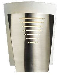 "Acid Frost Glass Deco 10 1/4"" High ADA Wall Sconce"