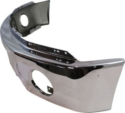 Evan-Fischer EVA17372038278 Bumper Front Steel Chrome (2012 Ford F150 Front Bumper Parts compare prices)