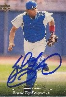 Sal Fasano Wilmington Blue Rocks - Royals Affiliate 1995 Upper Deck Autographed Hand... by Hall of Fame Memorabilia