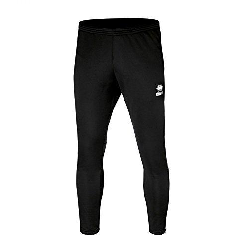 Key bestseller pantaloni da uomo (lungo) sottile con gamba (aderente appuntito) e chiusura lampo · Unisex Slim Fit zip pantaloni sportivi () in poliestere per Individual Sport & Team sport di Errea, nero, S