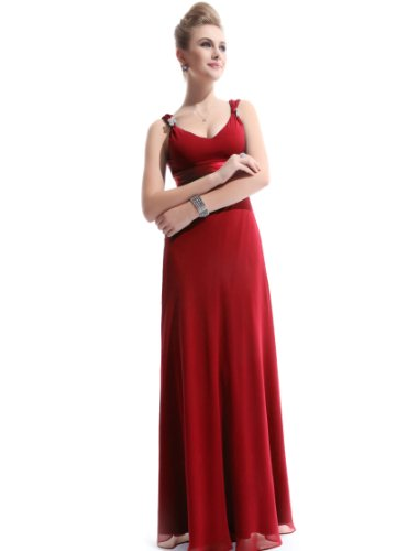 HE09601RD18, Red, 16US, Ever Pretty Cheap Maxi Dresses For Women 09601