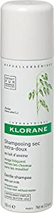 Klorane Gentle Dry Shampoo with Oat Milk, 1.06 Ounce