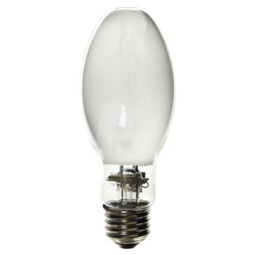 Sunlite 03639-SU MP50/C/U/MED 50 Watt Metal Halide Protected for Exposed Fixtures ED17 Light Bulb, Medium Base, Coated
