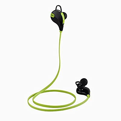 Mpow® Swift Bluetooth 4.0 Wireless Stereo Sweatproof Jogger, Running, Sport Headphones Earbuds with AptX,Mic Hands-free Calling for iphone 6, 6 Plus, 5 5c 5s 4s ipad, LG G2, Samsung Galaxy S5 S4 S3 Note 3 and Other Android Cell Phones