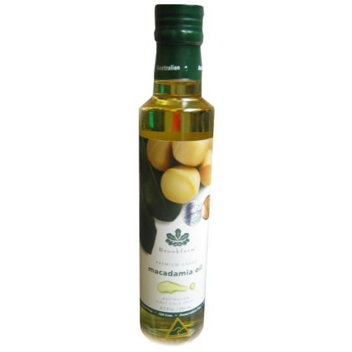 Brookfarm Natural Macadamia Nut Oil , 8.5-Ounce Bottles (Pack of 3)