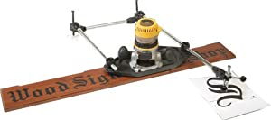 Milescraft 1298 3D-Pantograph Router Stencil Tracing Jig - Power