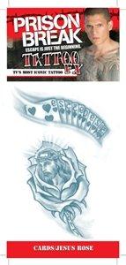 Prison Break Cards Jesus Rose Tattoo