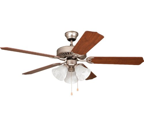 Ellington E-ELN52BP5C3 The Ellington Collection 52 in. Indoor Ceiling Fan - Brushed Pewter