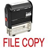 FILE COPY Self Inking Rubber Stamp - Red Ink (42A1539WEB-R)