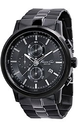 Kenneth Cole New York Bracelet Black Dial Men's Watch #KC9226