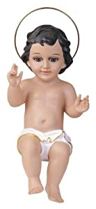 #!Cheap 16 Inch Baby Jesus With Glass Eyes Holy Religious Figurine Decoration