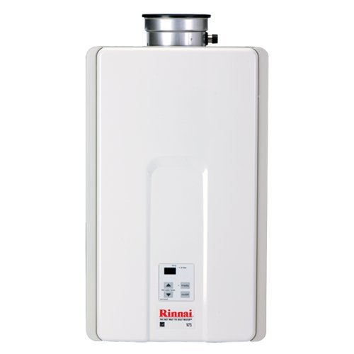 Rinnai Rv75Ing Indoor Natural Gas 7.5 Tankless Water Heater From The Value Serie, Natural Gas