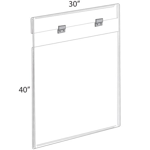 39x55 inch poster frame