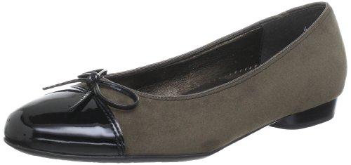 Jenny Pisa Peep-Toe Womens Beige Beige (schwarz,taupe 05) Size: 6 (39 EU)