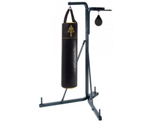 reebok sonstige gold 39 s gym mehrzweck boxsack st nder mit speedball schwarz. Black Bedroom Furniture Sets. Home Design Ideas