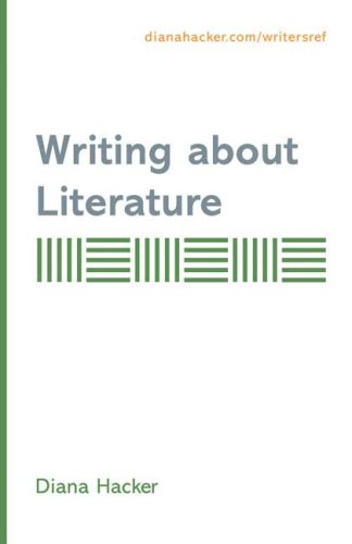 Writing About Literature: Supplement To Accompany A Writers Reference