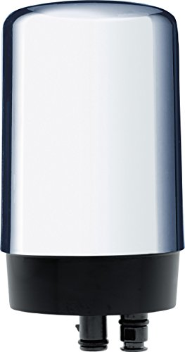 Brita On Tap Faucet Water Filter System Replacement Filters, Chrome, 1 Count (Chrome Faucet Water Filter compare prices)