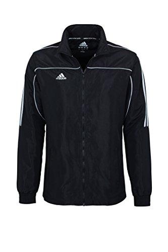 Adidas, Giacca sportiva Teamwear, Nero (Schwarz), M