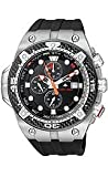 Citizen Eco-Drive Promaster Carbon Diver Black Dial Men's Watch #BJ2135-00E