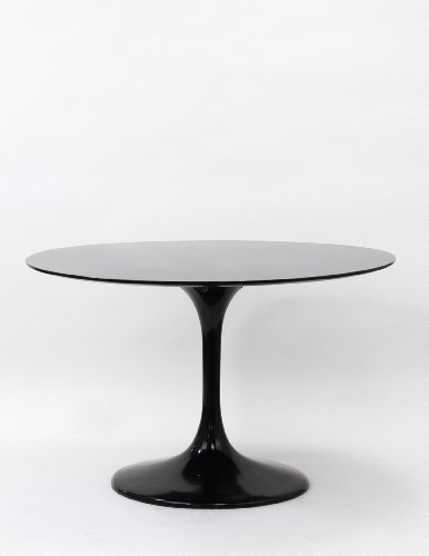 Buy Low Price Lexington Modern 48″ Eero Saarinen Style Tulip Dining Table – Black (B005PX824S)
