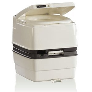 THETFORD PORTA POTTI 465 MSD PORTABLE MARINE TOILET GROUND