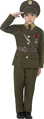 Army Officer Costume, Attached Belt