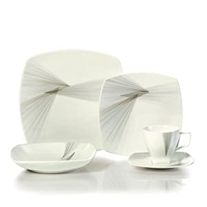 Mikasa Optic 5-Piece Dinnerware Placesetting