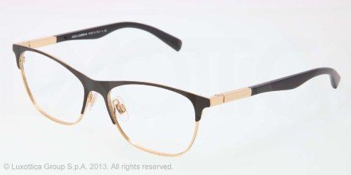 8db543cc94e59d DOLCE  amp  GABBANA Monture lunettes de vue DG 1246 1220 Noir mat Doré 53MM  ) - fr-shop