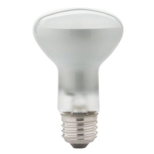 Globe Electric 04644 65-Watt Energy Saver R20 Medium Base Flood Light Bulb, Soft White, 2-Pack