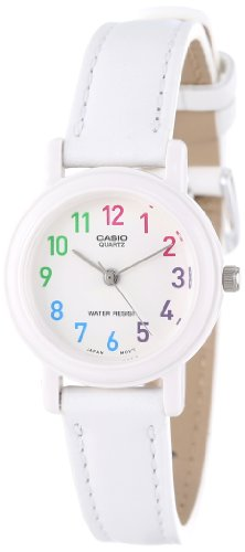 Casio Women's LQ-139L-7BCF White Analog Casual Watch