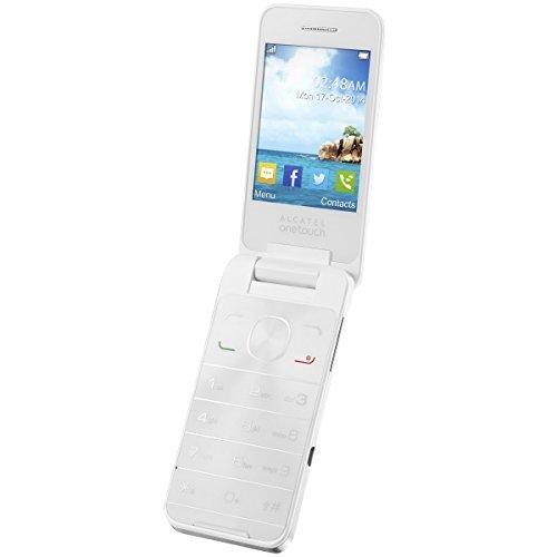 Alcatel-2012D-Sesame-2-pure-blanc-dbloqu-logiciel-original-Micro-USB-Kabel-Ladegert-Dual-Simbatterie-rechargeable-BDA-et-35-mm-Kit-oreillette-import-Allemagne